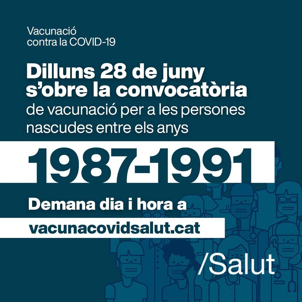 Convocats els nascuts entre el 1987 i el 1991 per la vacuna de la COVID19 - 01ef1-E4jlHy1WUAYxX9v.jpg