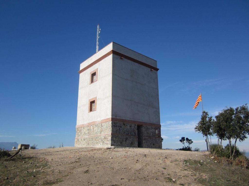 Torre de telegrafia òptica - Puigmarí
