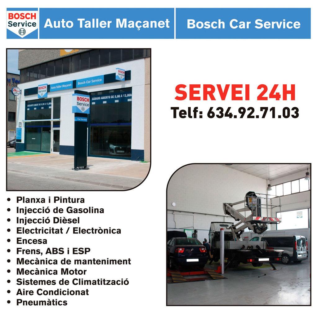 Taller mecànic Auto Taller Maçanet