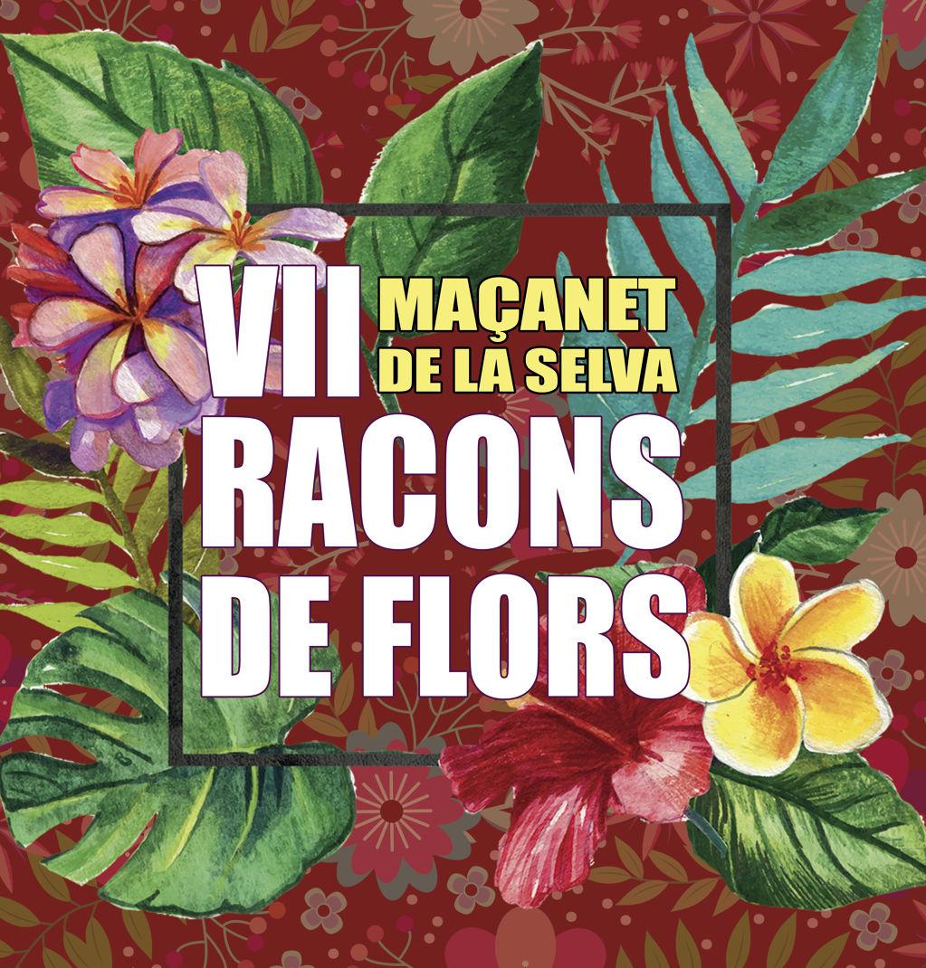 Maçanet es torna a engalanar amb la VII edició de Racons de Flors - 58133-cartell_racons_flors3.jpg