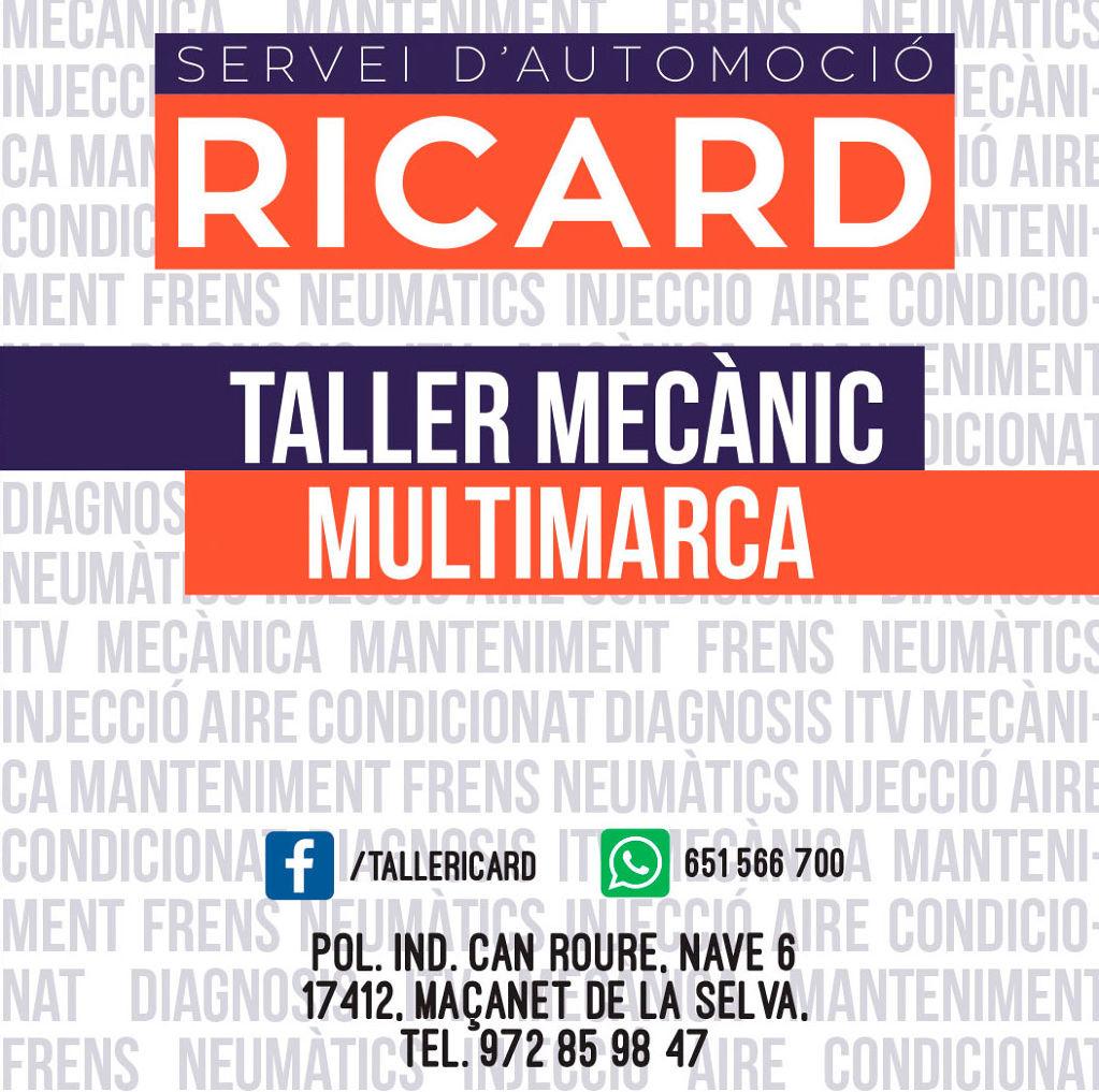 Taller mecànic Ricard