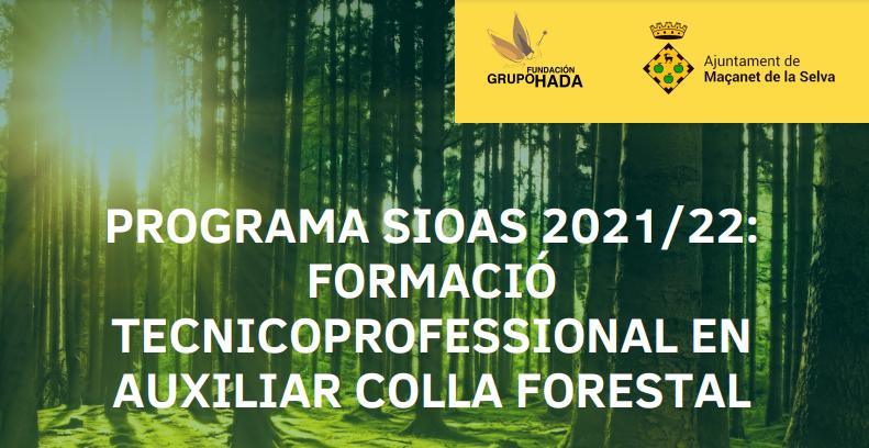 Formació en Auxiliar de Brigada Forestal dirigida a persones amb discapacitat psíquica o física