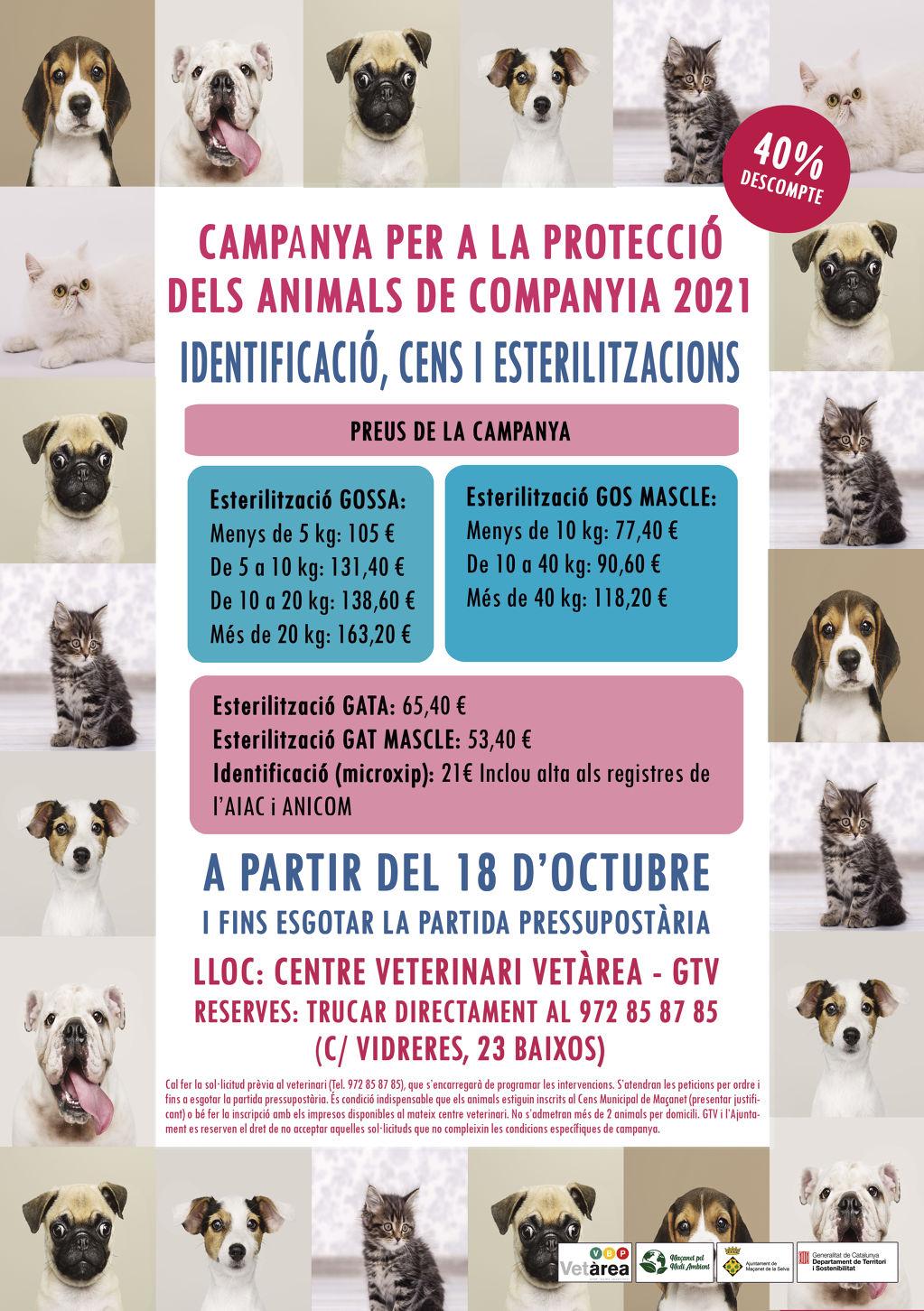 Campanya per a la protecció d'animals de companyia