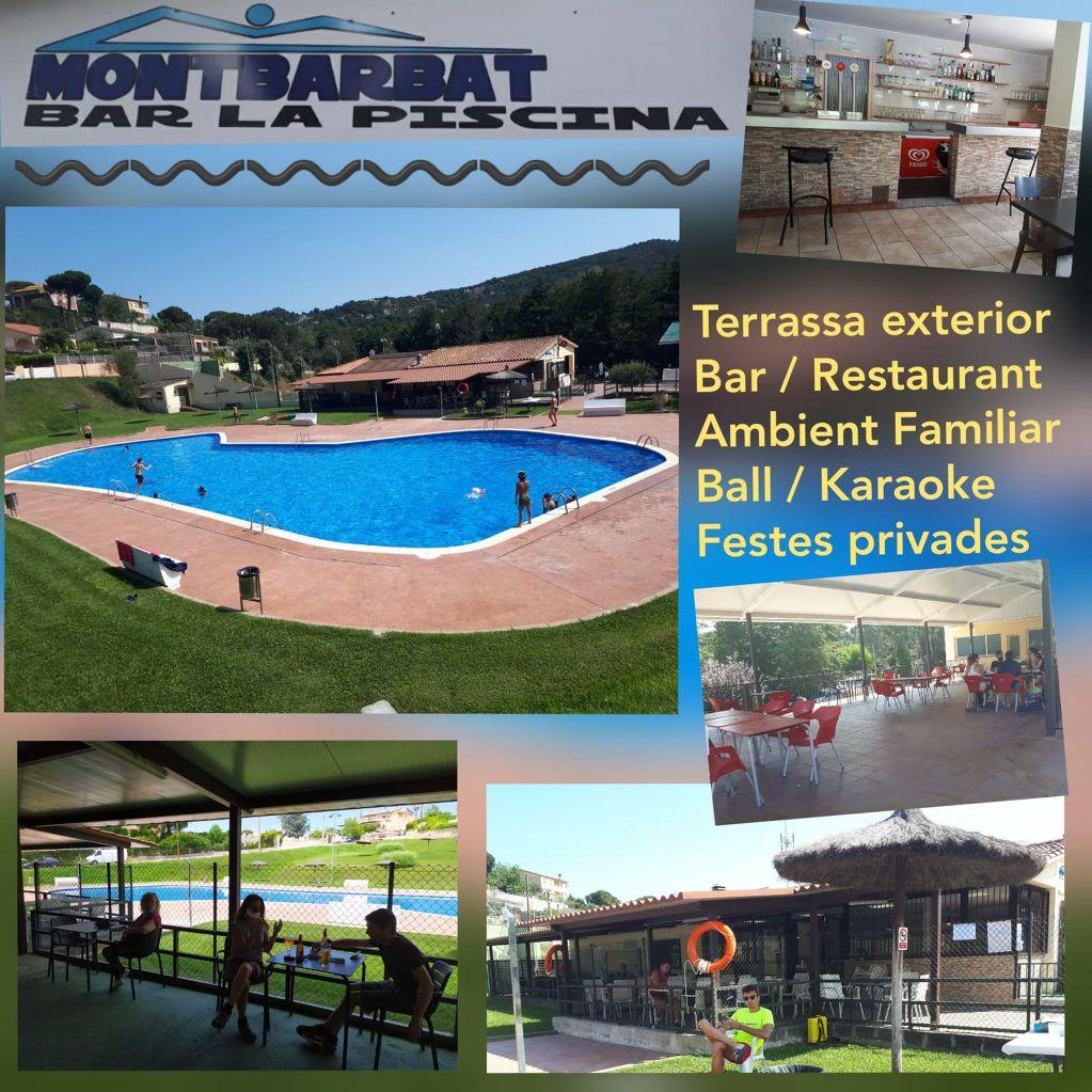 Bar la piscina Montbarbat