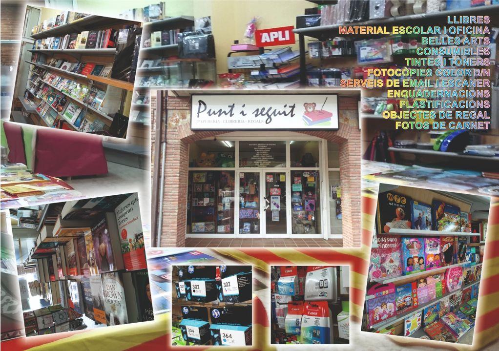 Papereria llibreria Punt i seguit