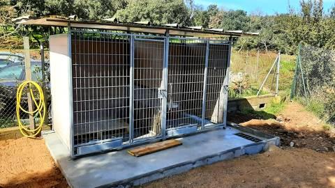 Traslladem les instal·laciona per l'estada puntual de gossos perdut