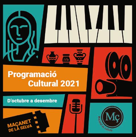 Programació cultural d'octubre a desembre de 2021