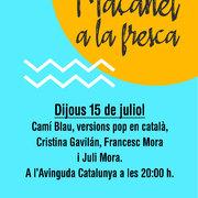 MAÇANET A LA FRESCA: Versions pop en català