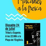 MAÇANET A LA FRESCA: Tribut a Eugenio