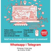 CURS TIC: WhatsApp i Telegram
