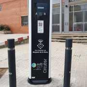 Nova estació pública i gratuïta de recàrrega per a vehicles elèctrics