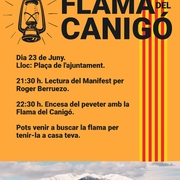 Flama del Canigó - Revetlla de Sant Joan