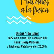 MAÇANET A LA FRESCA: Jazz