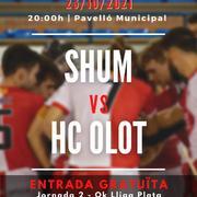 SHUM vs. HC OLOT (OK Lliga Plata)